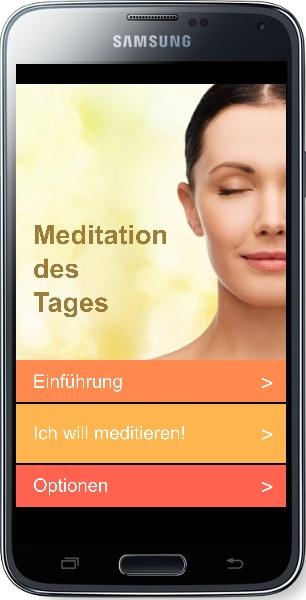 App zum Meditieren