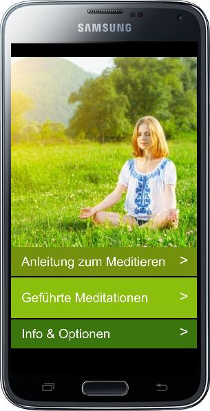22 geführte Meditationen als Android App