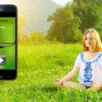 22 geführte Meditationen in einer App