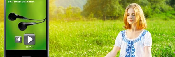 22 geführte Meditationen als App (deutsch)