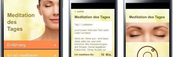 Neue App zum Meditieren